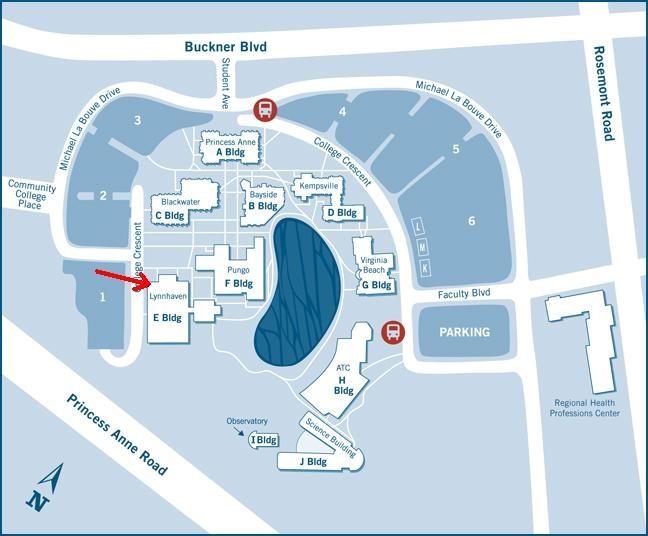 Tcc Virginia Beach Campus Map